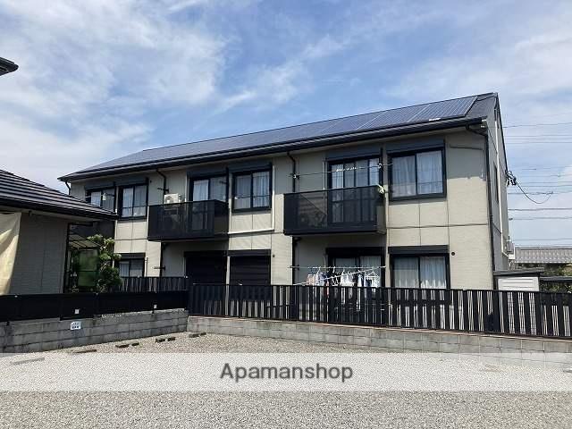 静岡県藤枝市、藤枝駅徒歩7分の築18年 2階建の賃貸アパート