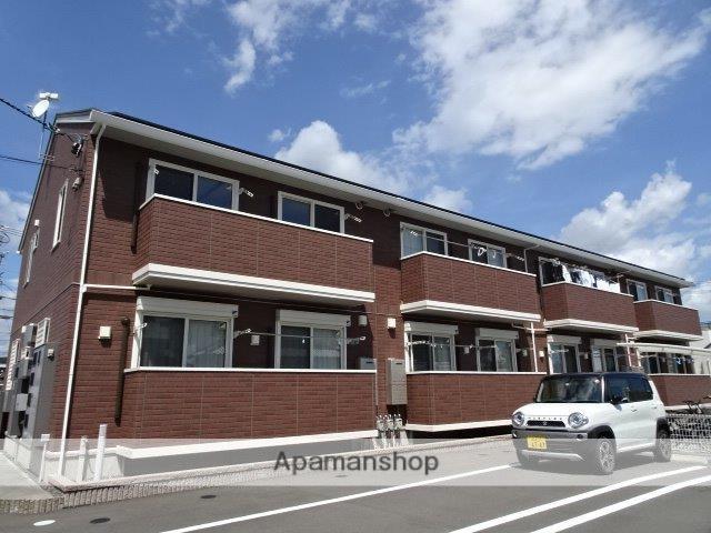 静岡県藤枝市、藤枝駅徒歩18分の新築 2階建の賃貸アパート