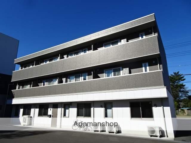 静岡県藤枝市、藤枝駅徒歩10分の新築 3階建の賃貸アパート