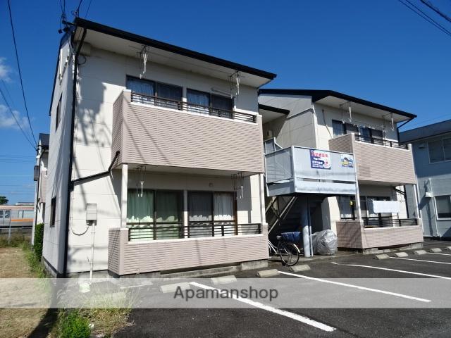 静岡県藤枝市の築24年 2階建の賃貸アパート