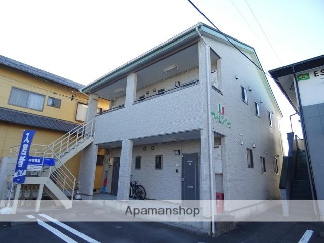 静岡県焼津市、焼津駅自主運行バスバス8分三ヶ名東下車後徒歩2分の築8年 2階建の賃貸アパート