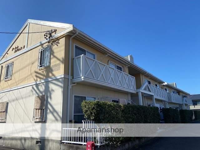 静岡県藤枝市、藤枝駅徒歩14分の築25年 2階建の賃貸アパート