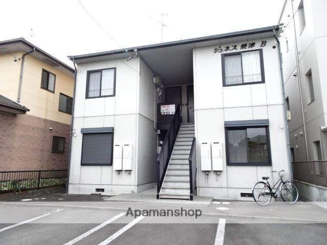 静岡県焼津市、焼津駅自主運行バスバス10分西小学校前下車後徒歩3分の築18年 2階建の賃貸アパート