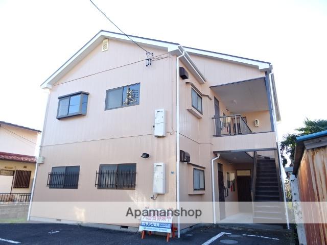 静岡県藤枝市、藤枝駅徒歩20分の築24年 2階建の賃貸アパート