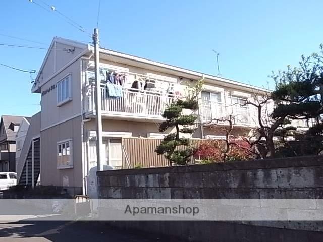 静岡県焼津市、焼津駅徒歩27分の築25年 2階建の賃貸アパート