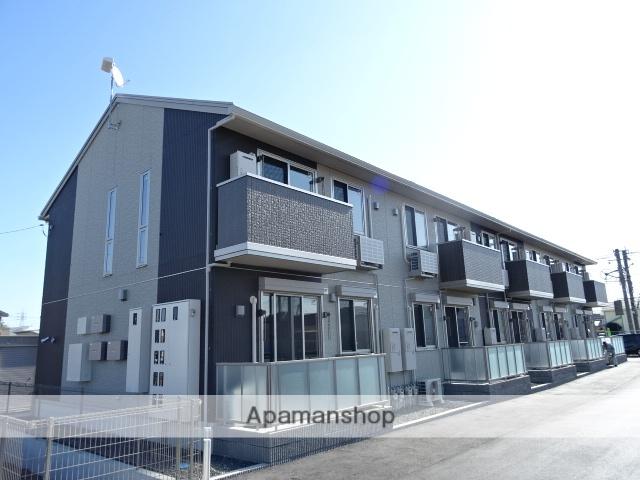 静岡県藤枝市、藤枝駅徒歩19分の築1年 2階建の賃貸アパート