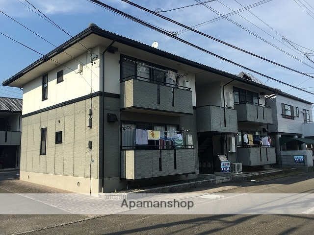 静岡県藤枝市、藤枝駅徒歩8分の築22年 2階建の賃貸アパート