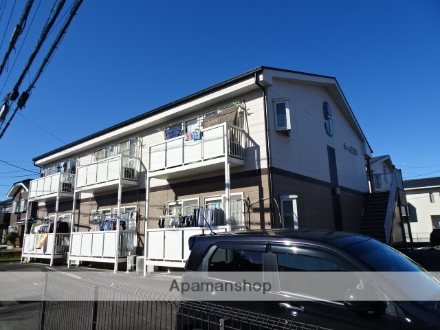 静岡県島田市、六合駅徒歩22分の築20年 2階建の賃貸アパート