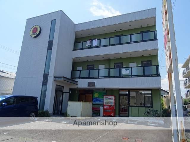 静岡県藤枝市、藤枝駅徒歩12分の築17年 3階建の賃貸アパート