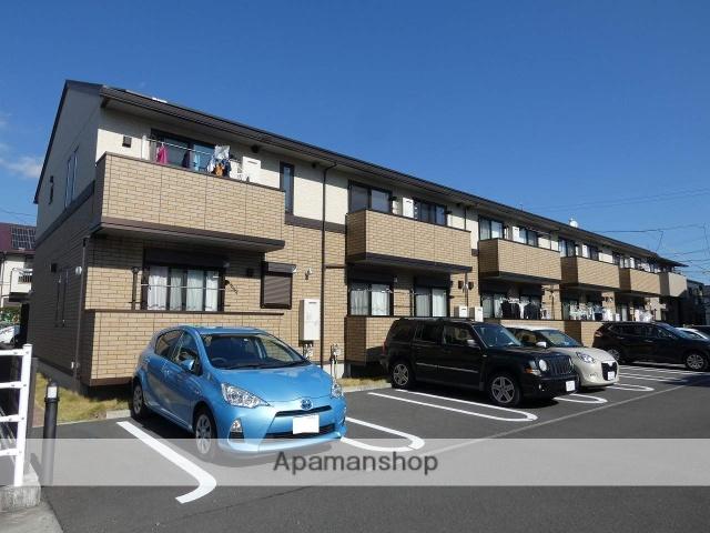 静岡県焼津市、西焼津駅徒歩9分の新築 2階建の賃貸アパート