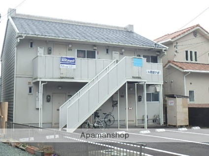 静岡県島田市、六合駅徒歩11分の築30年 2階建の賃貸アパート