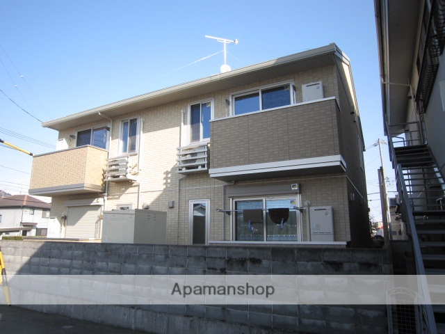 静岡県焼津市、焼津駅徒歩12分の築5年 2階建の賃貸アパート