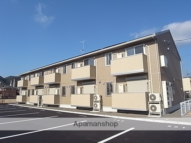 静岡県島田市、六合駅徒歩8分の築4年 2階建の賃貸アパート