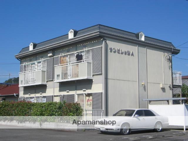 静岡県藤枝市、藤枝駅静鉄バスバス20分瀬古下車後徒歩3分の築27年 2階建の賃貸アパート