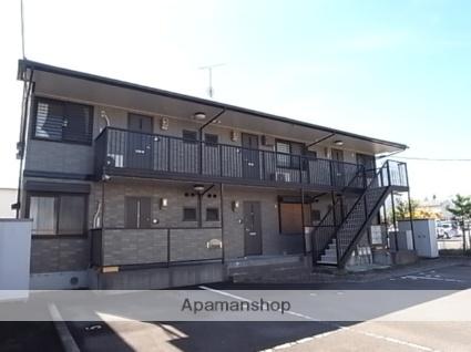 静岡県藤枝市、藤枝駅静鉄バスバス25分藤岡入口下車後徒歩3分の築16年 2階建の賃貸アパート