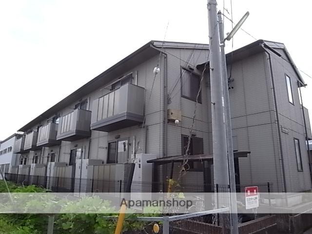 静岡県藤枝市、藤枝駅静鉄バスバス30分法の橋下車後徒歩2分の築14年 2階建の賃貸アパート