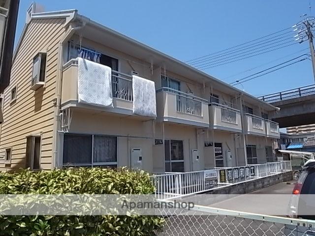 静岡県焼津市、焼津駅徒歩5分の築26年 2階建の賃貸アパート