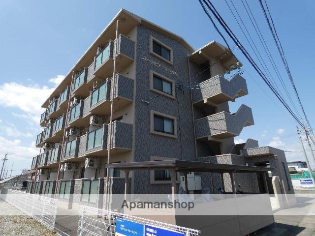 静岡県袋井市、袋井駅メローバスバス30分梅山南下車後徒歩1分の築10年 4階建の賃貸マンション