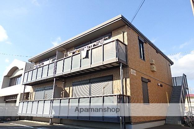 静岡県袋井市、袋井駅遠鉄バスバス30分浅羽町役場下車後徒歩2分の築13年 2階建の賃貸アパート