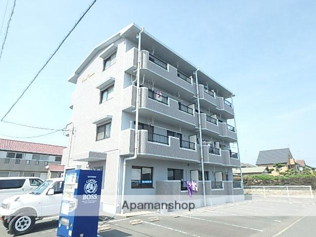 静岡県磐田市、磐田駅遠鉄バスバス40分東脇南下車後徒歩4分の築18年 4階建の賃貸マンション