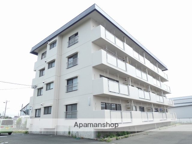 静岡県磐田市の築38年 4階建の賃貸マンション