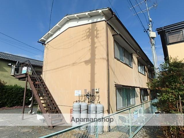 静岡県磐田市、豊田町駅徒歩20分の築44年 2階建の賃貸アパート