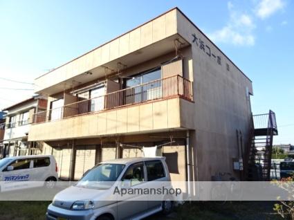 静岡県浜松市東区、浜松駅バス30分浜松ホトニクス下車後徒歩3分の築34年 2階建の賃貸アパート