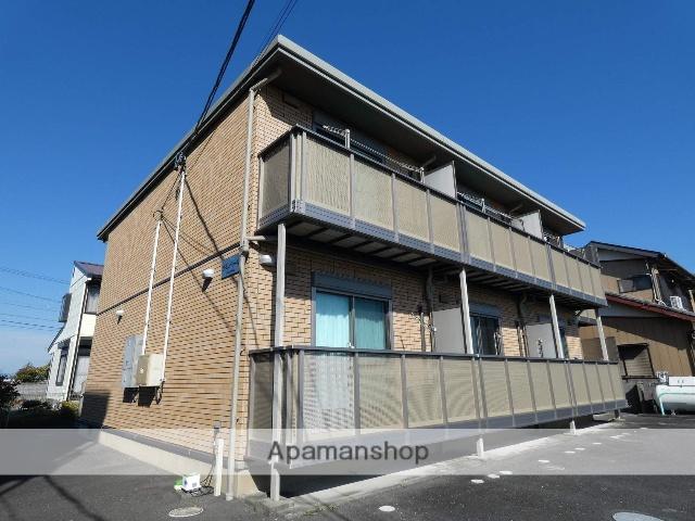 静岡県袋井市、袋井駅メローバスバス25分一本松下車後徒歩1分の築8年 2階建の賃貸アパート
