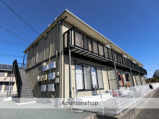 静岡県袋井市、袋井駅徒歩20分の築19年 2階建の賃貸アパート
