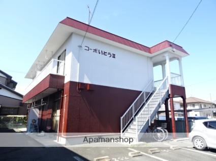 静岡県浜松市東区、天竜川駅徒歩21分の築30年 2階建の賃貸アパート