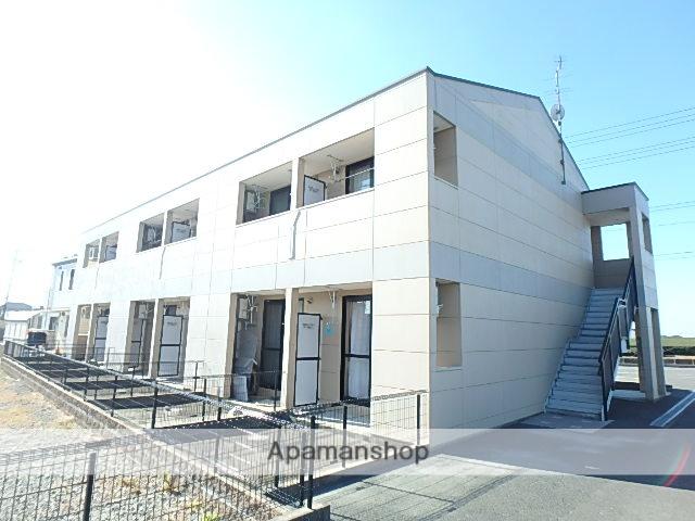 静岡県磐田市、磐田駅遠鉄バスバス25分大久保東下車後徒歩3分の築8年 2階建の賃貸アパート