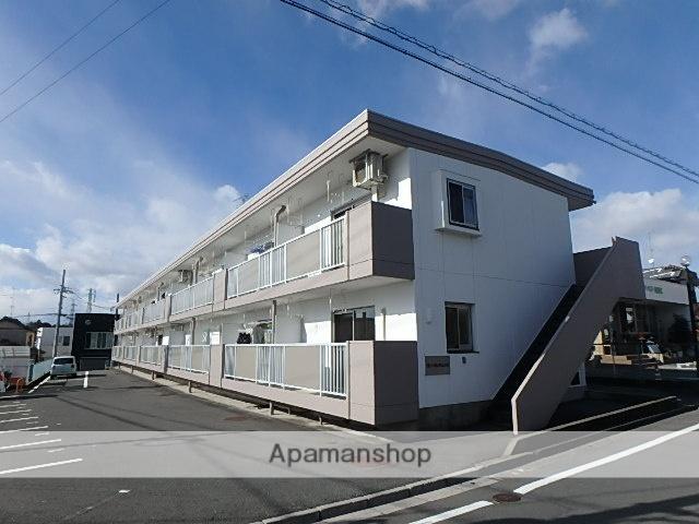静岡県磐田市、磐田駅遠鉄バスバス20分河原町下車後徒歩3分の築32年 2階建の賃貸マンション