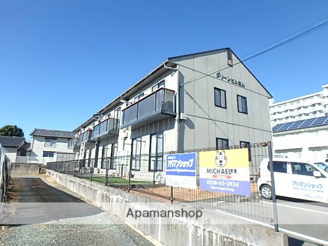 静岡県磐田市、磐田駅遠鉄バスバス7分城之崎下車後徒歩9分の築19年 2階建の賃貸アパート