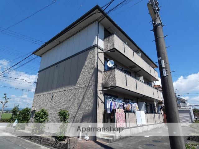 静岡県袋井市、袋井駅徒歩30分の築19年 3階建の賃貸アパート