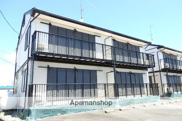 静岡県袋井市、袋井駅遠鉄バスバス15分上新池下車後徒歩10分の築19年 2階建の賃貸アパート