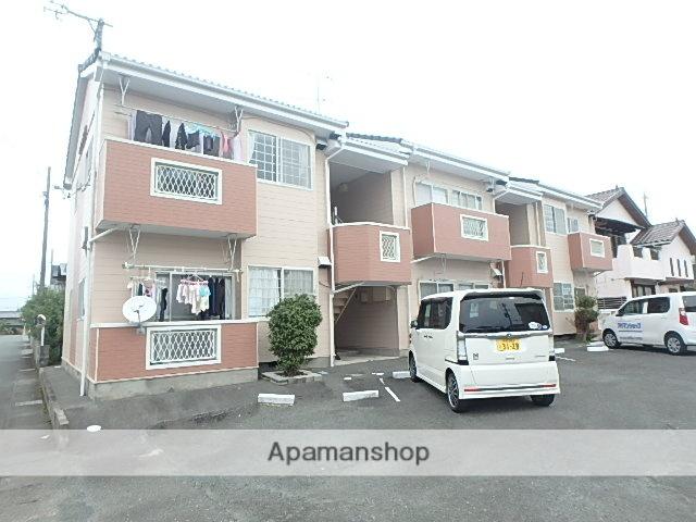 静岡県磐田市、豊田町駅徒歩15分の築23年 2階建の賃貸アパート