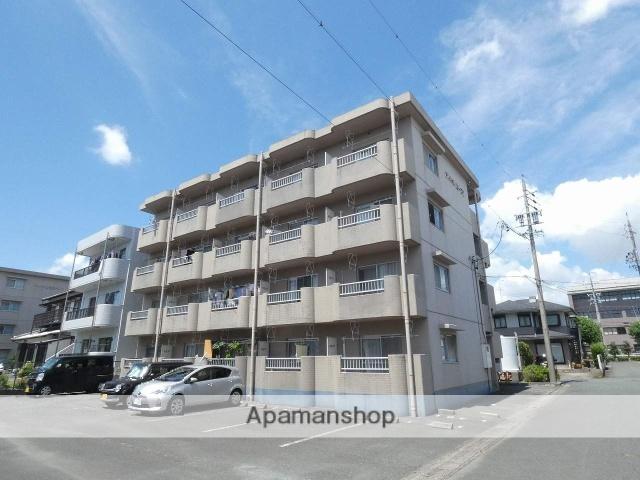 静岡県磐田市、豊田町駅徒歩5分の築23年 4階建の賃貸マンション