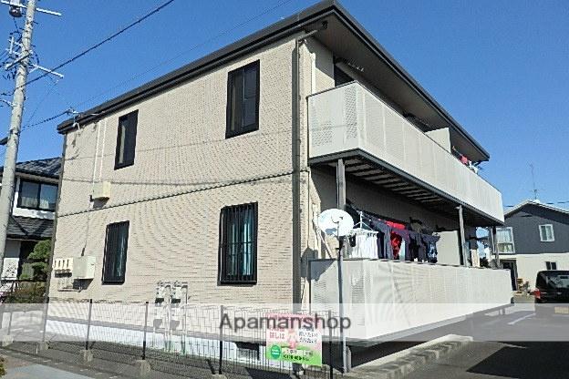 静岡県袋井市、袋井駅静鉄バスバス30分ジャスコ前下車後徒歩5分の築15年 2階建の賃貸アパート