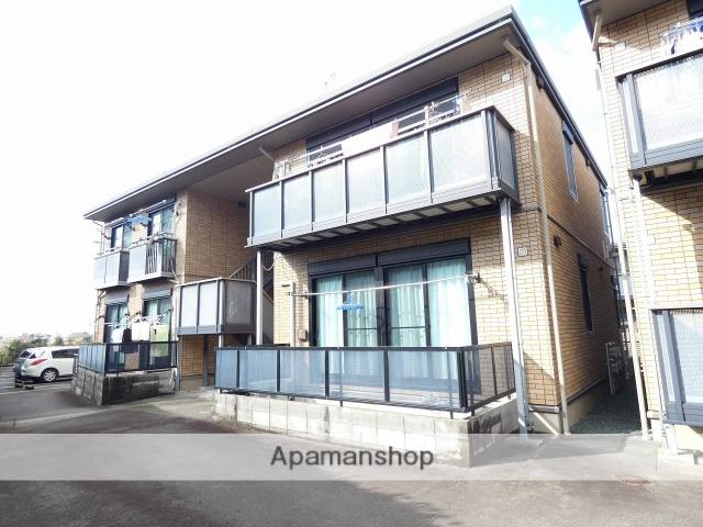 静岡県磐田市、磐田駅遠鉄バスバス20分見付下車後徒歩5分の築12年 2階建の賃貸アパート