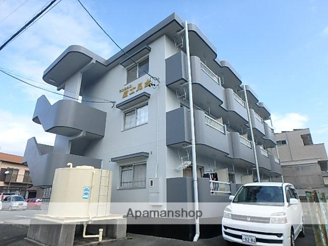 静岡県磐田市、磐田駅遠鉄バスバス10分富士見町下車後徒歩2分の築25年 3階建の賃貸マンション