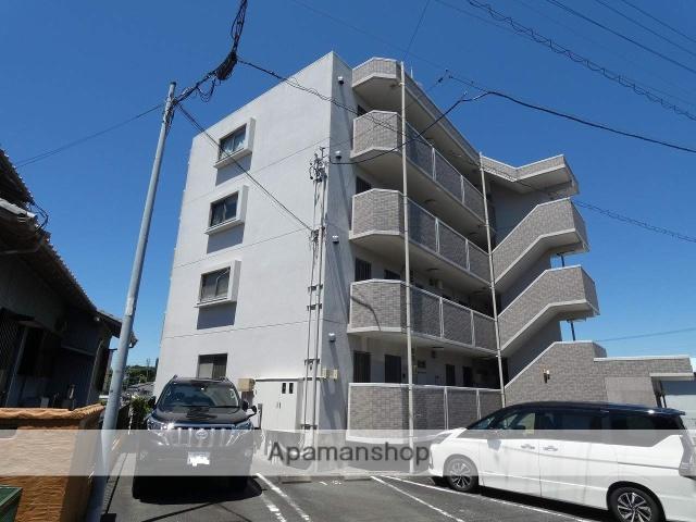 静岡県磐田市、磐田駅遠鉄バスバス20分磐田学園前下車後徒歩3分の築9年 4階建の賃貸マンション
