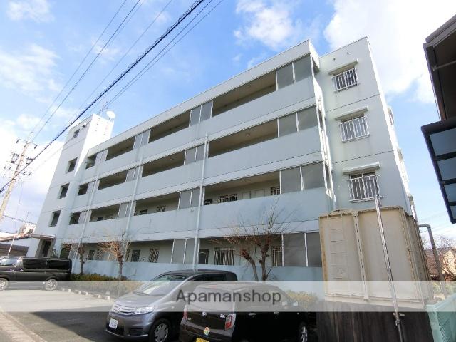 静岡県袋井市、袋井駅徒歩9分の築24年 4階建の賃貸マンション