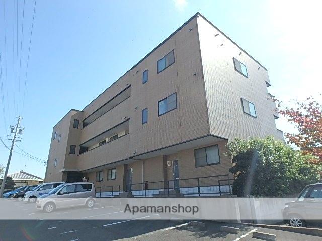 静岡県磐田市、磐田駅遠鉄バスバス10分東貝塚下車後徒歩7分の築16年 3階建の賃貸アパート