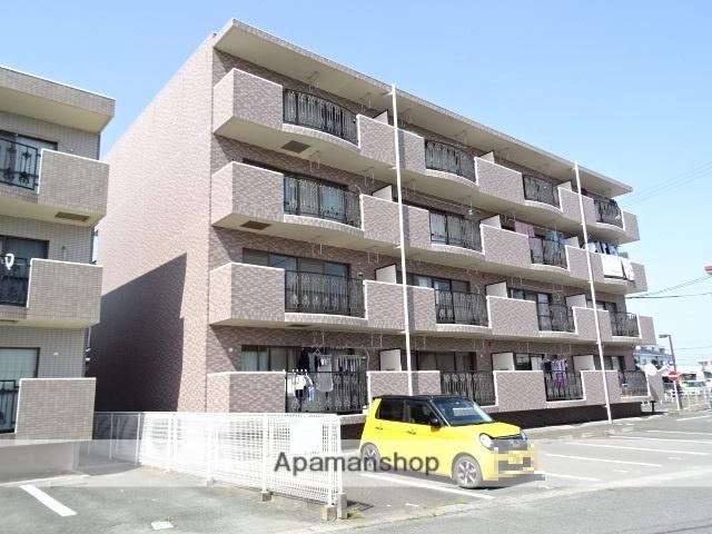 静岡県磐田市、豊田町駅徒歩3分の築20年 4階建の賃貸マンション