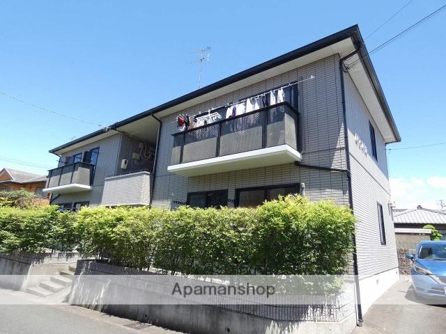 静岡県磐田市、磐田駅遠鉄バスバス8分河原町北下車後徒歩8分の築21年 2階建の賃貸アパート
