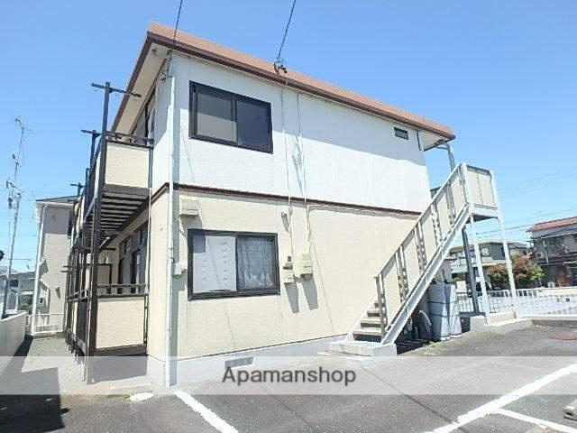 静岡県磐田市、豊田町駅徒歩18分の築21年 2階建の賃貸アパート