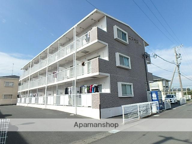 静岡県磐田市、磐田駅遠鉄バスバス10分市民プール下車後徒歩5分の築20年 3階建の賃貸マンション