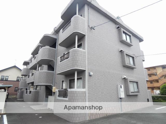 静岡県磐田市、磐田駅遠鉄バスバス20分天竜南下車後徒歩5分の築25年 3階建の賃貸マンション