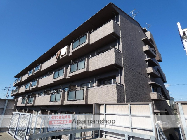 静岡県袋井市、袋井駅徒歩1分の築18年 5階建の賃貸マンション