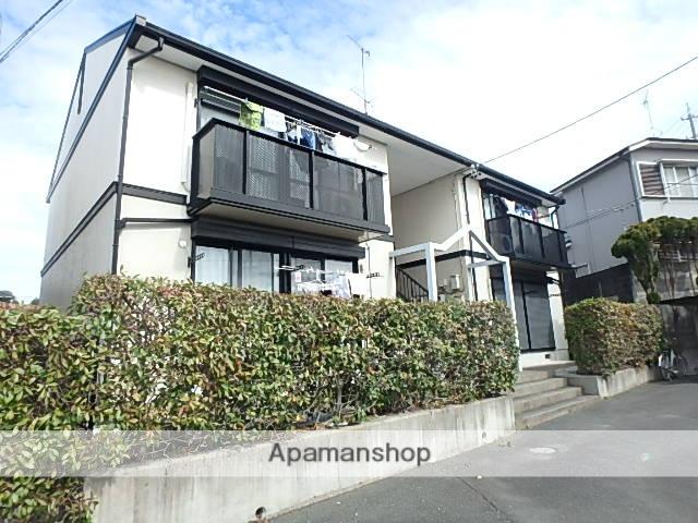 静岡県磐田市、磐田駅徒歩32分の築21年 2階建の賃貸アパート